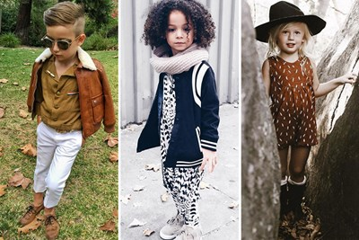 a child who is more fashionable than you