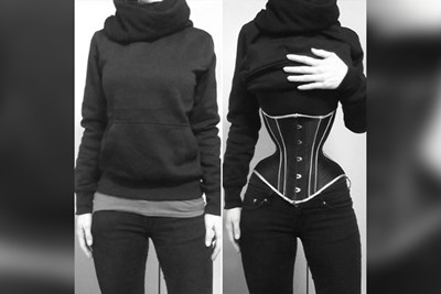 A probably dangerous corset