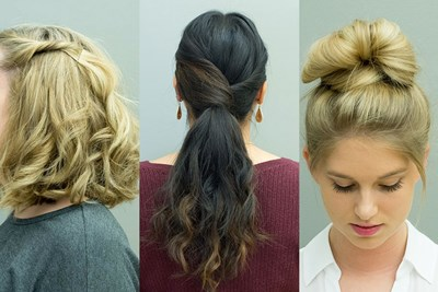 15 No-Hassle Hairstyles for Women