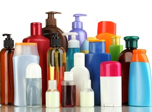a collection of beauty products in bottles and containers