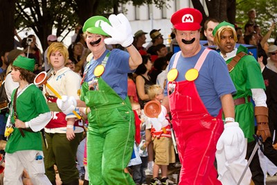 mario and luigi from nintendo