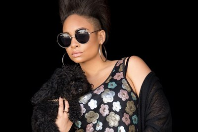 Raven Symone looking cool but being ridiculous