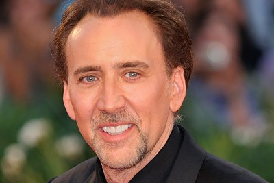 Nicolas Cage looking very hateable