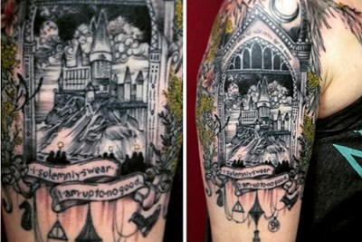 15 Harry Potter Tattoos That Are Pure Magic