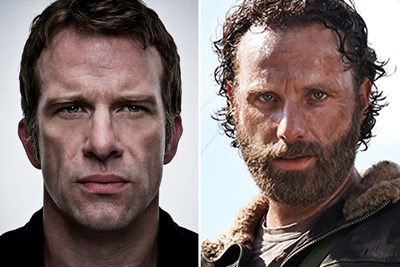a casting choice for a walking dead reboot