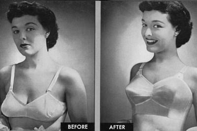 A vintage bra