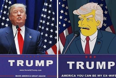 The Simpsons Predicts Donald Trump
