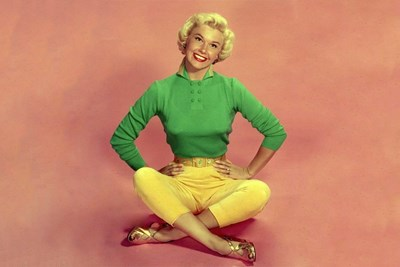 A young Doris Day