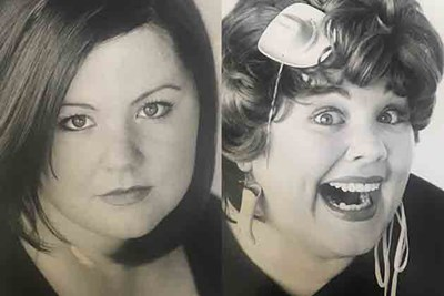 an old celebrity headshot of melissa mccarthy