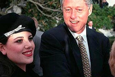bill clinton and monica lewinksy in 1998