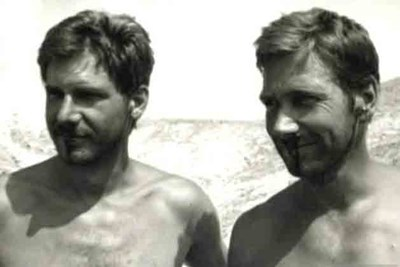 harrison ford and his stunt double