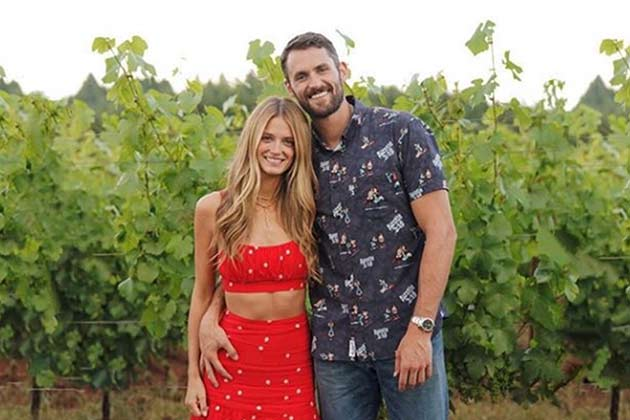 Kate Bock and Kevin Love