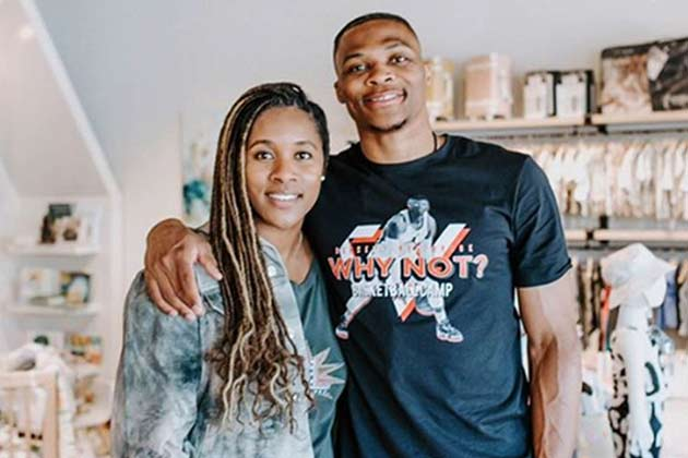 Nina Earl and Russell Westbrook