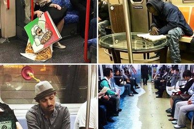 40 Craziest Things Seen on the Subway