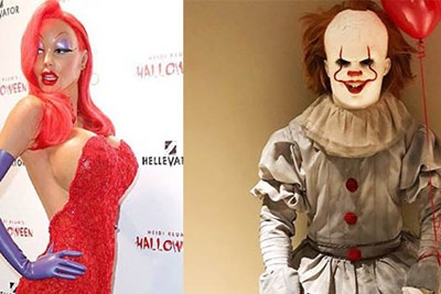 These Celebrities Went All Out for Halloween
