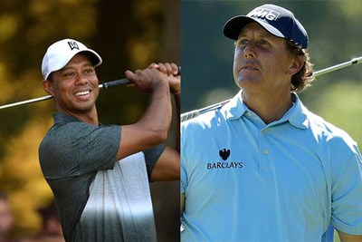 tiger and mickelson