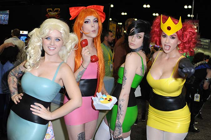 The girls of comic con