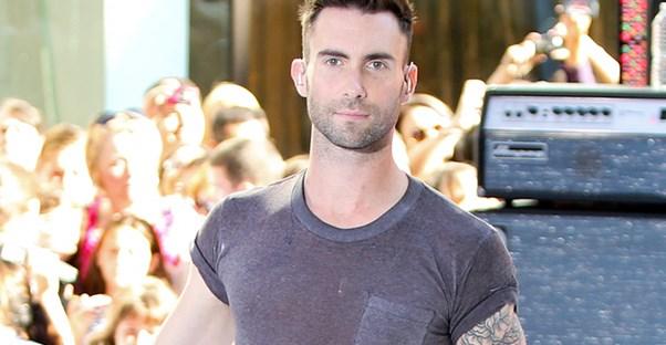 Adam Levine at an event.