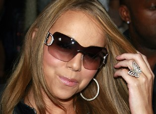 Mariah Carey wearing sunglasses
