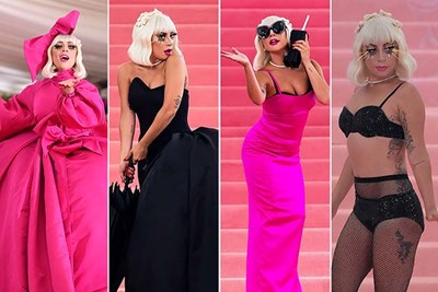 Lady Gaga style evolution over the past decade