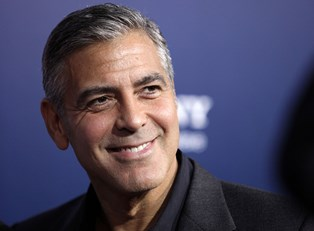 George Clooney after his near-death experience