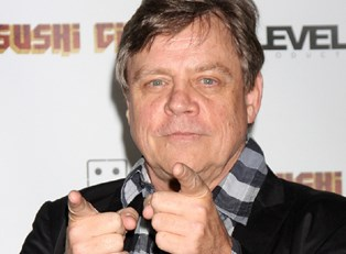 Mark Hamill at an event.