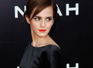 Emma Watson at the Noah premier.
