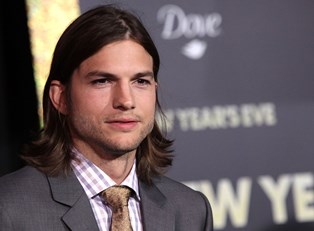 Ashton Kutcher at an event.