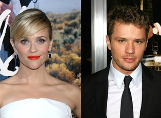 A collage of Reese Witherspoon and Ryan Phillippe
