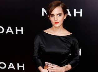 Emma Watson at the premier of Noah