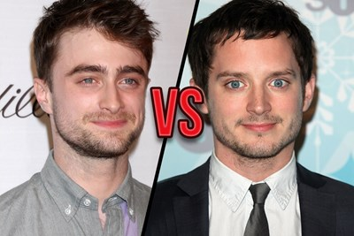 Celebrity Guess Who: Daniel Radcliffe or Elijah Wood