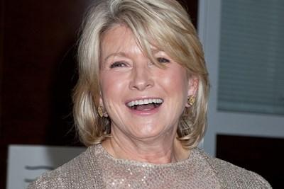 Martha Stewart laughing