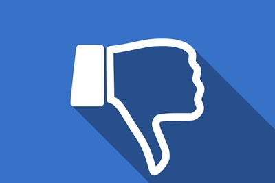 a facebook dislike