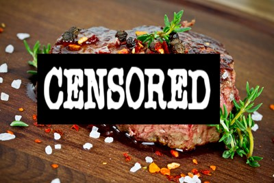 censored steak