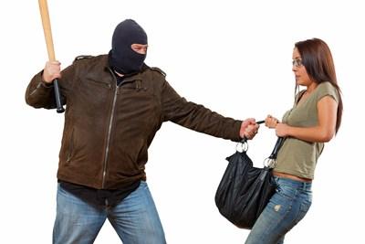 A purse is stolen
