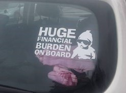 parenting meme decal
