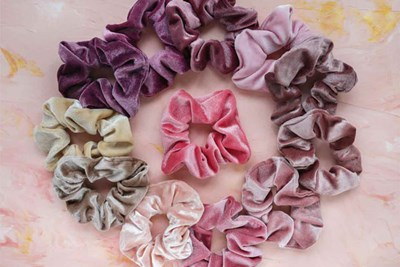 scrunchies that no woman over 40 should own