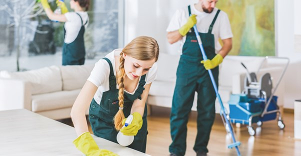 11 benefits of hiring a home cleaning service