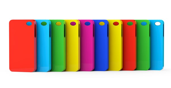 Colorful smartphone cases
