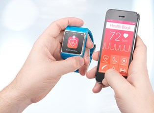 a smart watch used for fitness