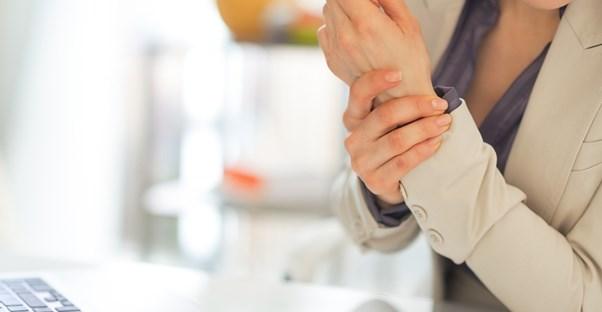 a woman who needs an arthritis-friendly home